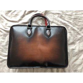 Berluti-Bags Briefcases-Bronze