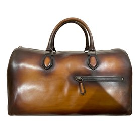 Berluti-Bags Briefcases-Brown