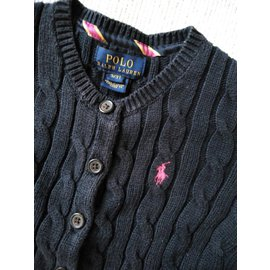 Polo Ralph Lauren-Cardigan-Navy blue