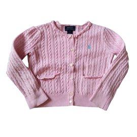 Polo Ralph Lauren-Logo vest-Pink