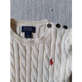 Polo Ralph Lauren-Logo dress-Cream