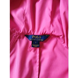 Polo Ralph Lauren-Blouson logo-Rose