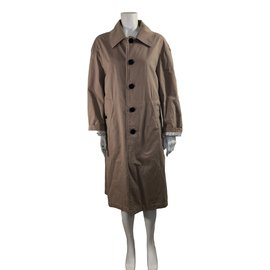 Burberry-Cotton trench-Beige