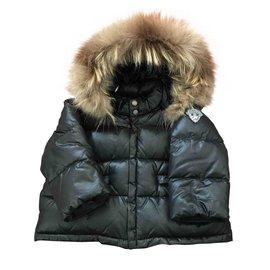 Bonpoint-Boy Coats Outerwear-Black