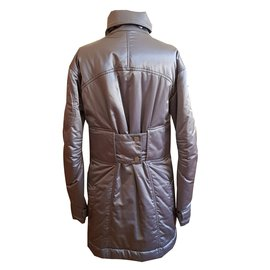 Chanel-down jacket-Silvery