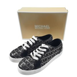 Michael Kors-Sneakers-Silvery