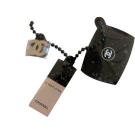 Chanel-Porte clé-Noir