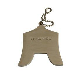 Chanel-Porte clé-Bleu