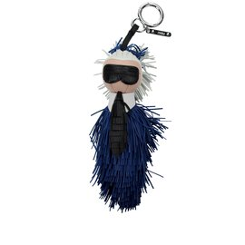 Fendi-Bag charm-Blue