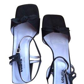 Lolita Lempicka-Black sandals-Black