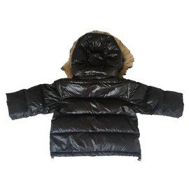 Bonpoint-Hübsche Jacke Bonpoint-Schwarz