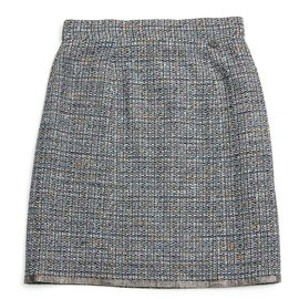 Chanel-Étincelle gris tweed-Gris