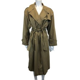 Céline-Trench coat-Beige