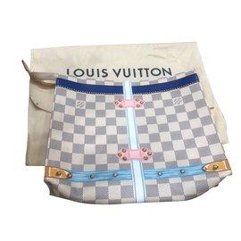 Louis Vuitton-Edition limitée St Barth-Blanc,Bleu clair