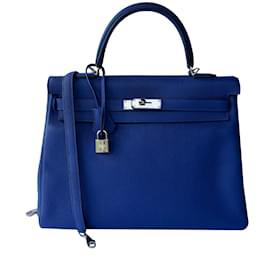 Hermès-Kelly returned 35-Blue