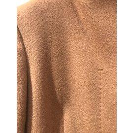 Max Mara-Manteaux, Vêtements d'extérieur-Caramel