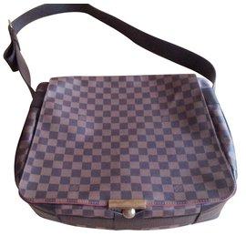 Louis Vuitton-Grande Besace Damier.-Marron