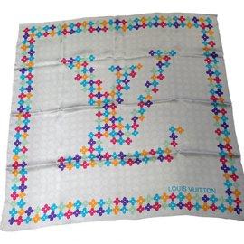 Louis Vuitton-Foulard-Multicolore