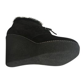 Louis Vuitton-Bottes-Noir
