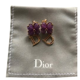 Dior-B O pour oreilles percées-Argenté