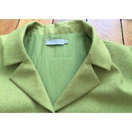 Cos-tailleur pantalon-Vert clair