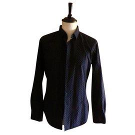 Givenchy-chemise GIVENCHY taille 42 parfait état-Noir