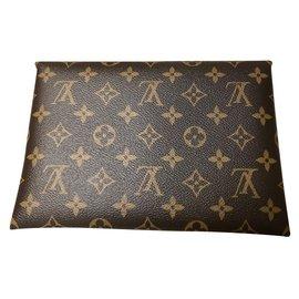 Louis Vuitton-Pochettes-Marron,Rose
