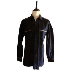 Versace-Chemise-Noir