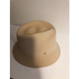 Hermès-Chapeau classique-Beige