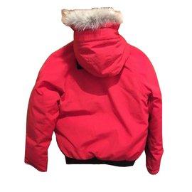 Canada Goose-Boy Coats Outerwear-Red
