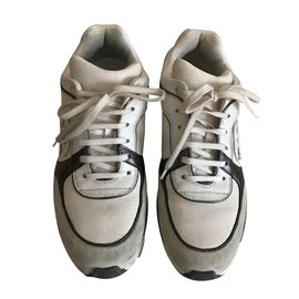 Chanel-Baskets-Blanc