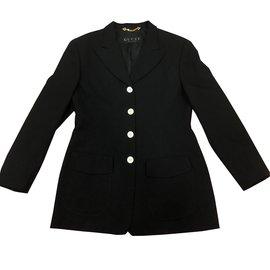 Gucci-Blazer / veste de costume-Noir