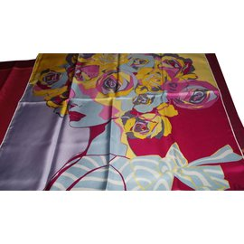 Dior-Silk scarves-Multiple colors