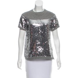 Chanel-Knitwear-Grey