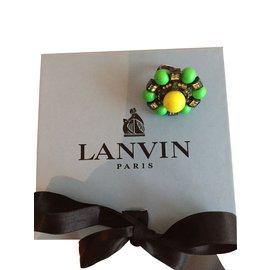 Lanvin-Bagues-Vert