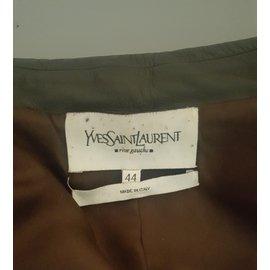 Yves Saint Laurent-Vestes-Bleu foncé