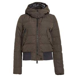 Moncler-Coats, Outerwear-Khaki
