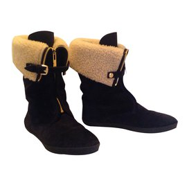 Burberry-Snow Boot-Dark blue