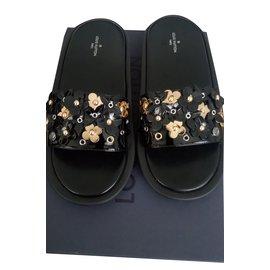 Louis Vuitton-Bain de soleil-Noir,Doré