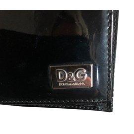 Dolce & Gabbana-Portefeuilles-Noir