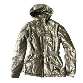 Louis Vuitton-Manteaux, Vêtements d'extérieur-Kaki