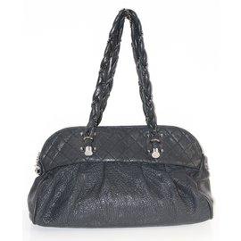 Chanel-Maxi Shopping-Noir