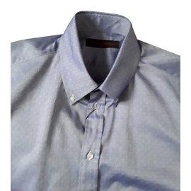Louis Vuitton-Chemise 4 L-Bleu