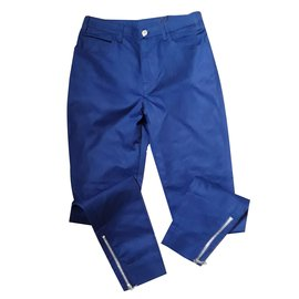 Louis Vuitton-Trousers 38-Blue