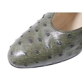 Hermès-Autruche-Vert
