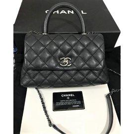 40862db4187e Chanel-Black Caviar Coco Mini bag-Black ...