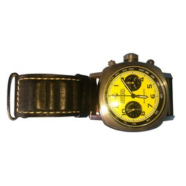 Autre Marque-Watch-Yellow