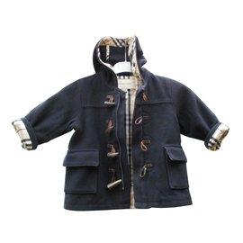 Burberry-Junge Mäntel Oberbekleidung-Schwarz