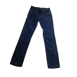 Calvin Klein-Pantalons-Bleu Marine