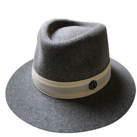 Maison Michel-Gray Hat-Grey